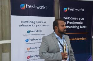 Freshworks Networking Meet in Nigeria – Consumerization of IT