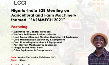 NIGERIA-INDIA BUSINESS FORUM ON AGRICULTURAL AND FARM MACHINERY